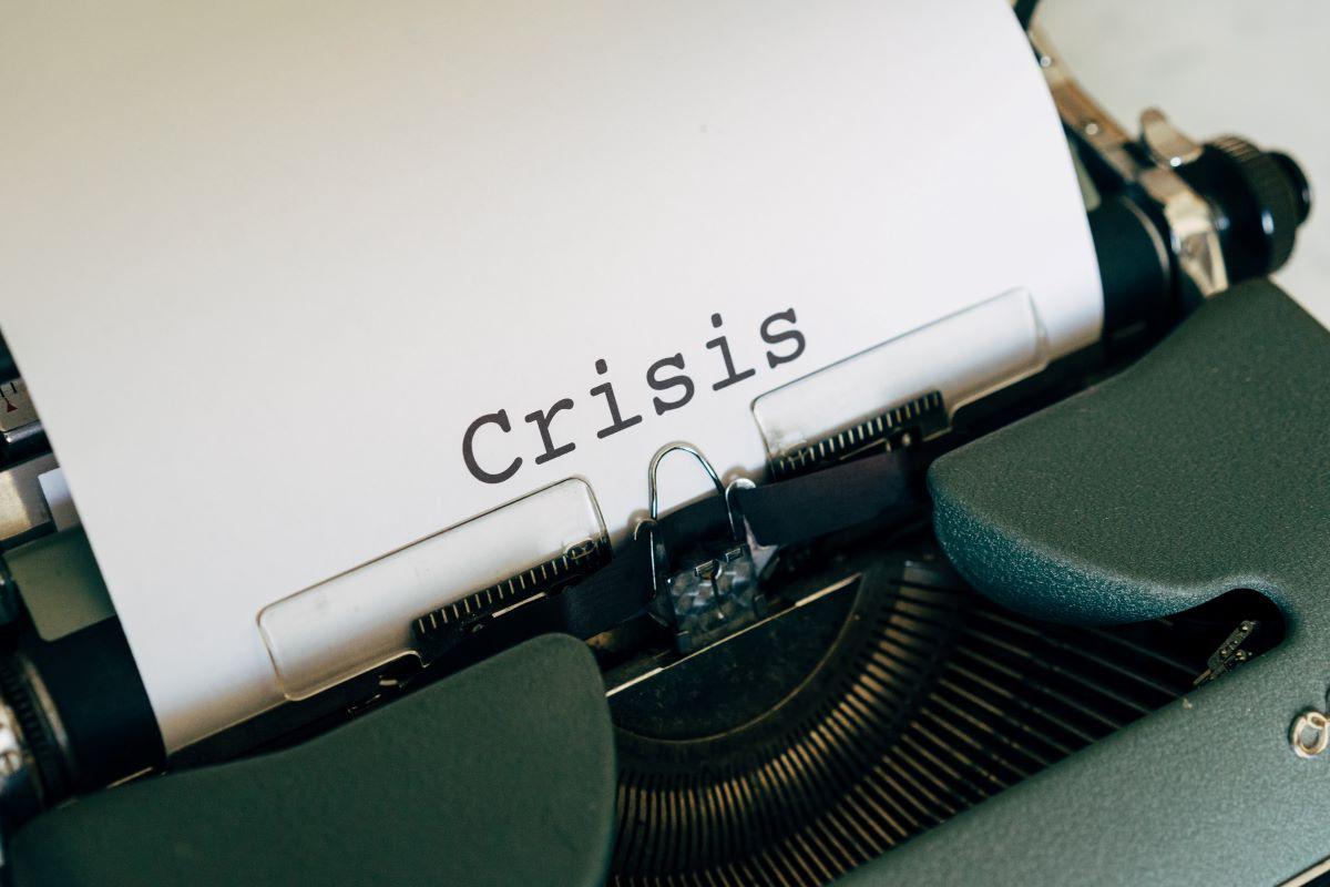 crisis en V o en U